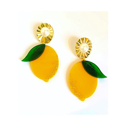Elizabeth Lemon Earrings