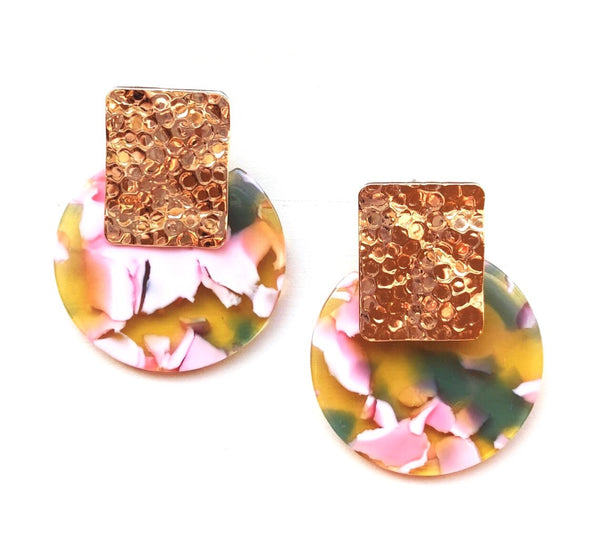 Lucy Resin Drop Earrings