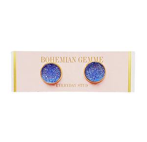 Bohemian Gemme Everyday Studs