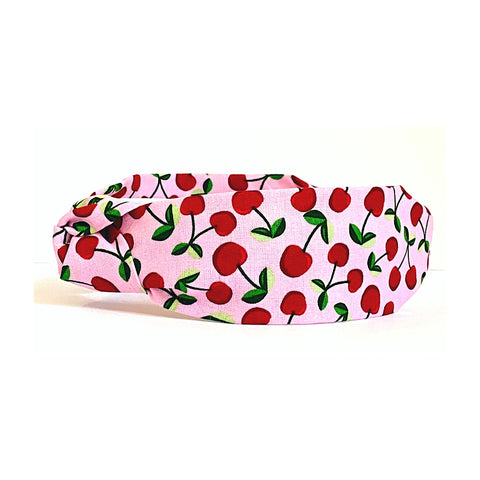 Ellison Cherry Print Headband