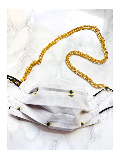 Stella Double Linked Sunglass/Mask Chain