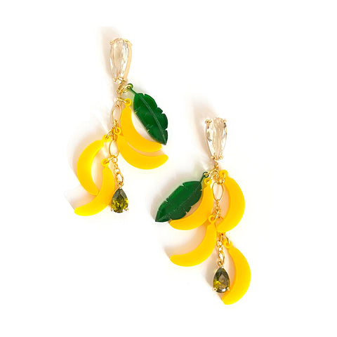 Louise Banana Drop Earrings