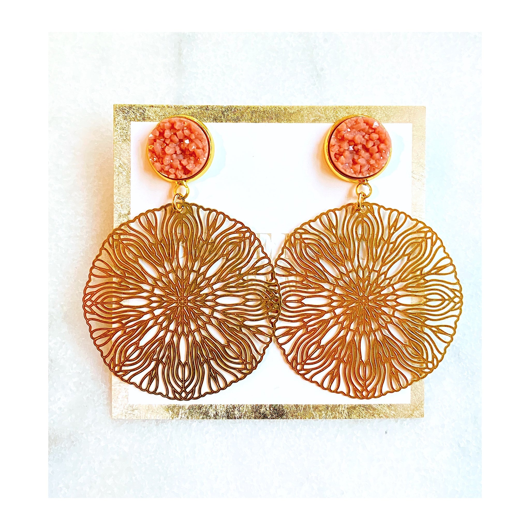 Brianna Boho Statement Earrings