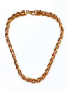 Riley Thick Rope Chain (Gold-Filled)