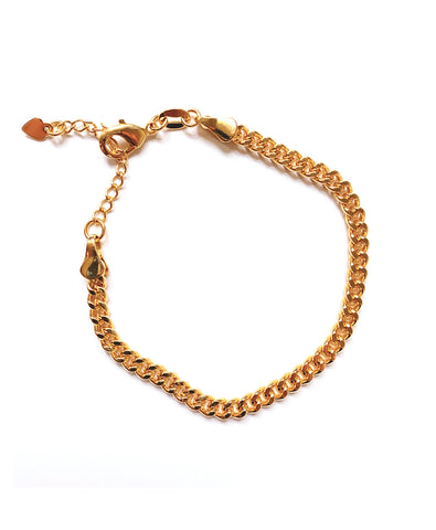 Lorelei Cuban Link Bracelet (Gold-Filled)