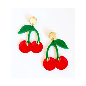 Mae Cherry Earrings