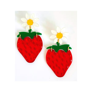 Katelyn Strawberry Earrings