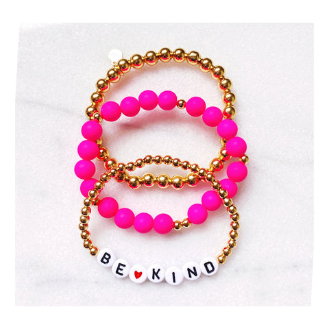 Be Kind Bracelet Set