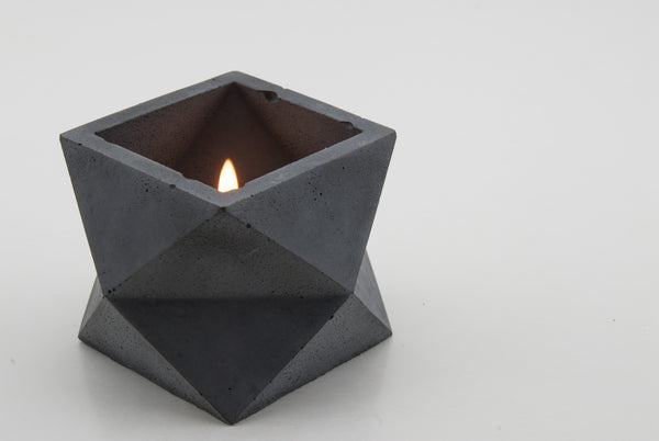 Bluestone Single Tier Geometric Planter - Conform Studios