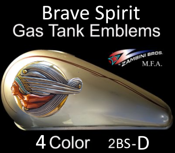 Harley Davidson, Indian Motorcycles, Kawasaki Drifter, Yamaha V-Star Gas Tank Decorative Art Emblems