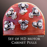 Harley Davidson Motorcycle Accessories Unique Motorcycle Gifts - Motor Cabinet Pulls