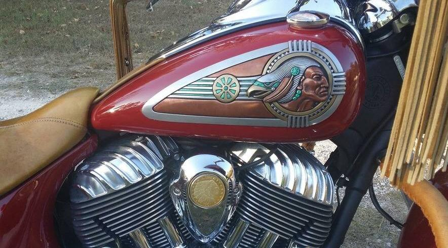 Zambini Bros Native American Art Motorcycle Accessories