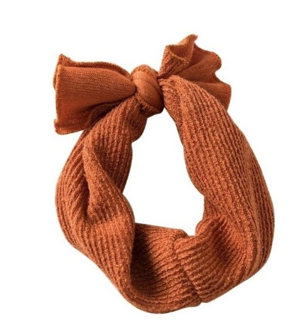Topknot Headband - Rust