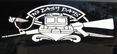 No Easy Days Logo Decal - No Easy Days Apparel
