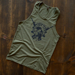 Molon Labe Tank Top - No Easy Days Apparel