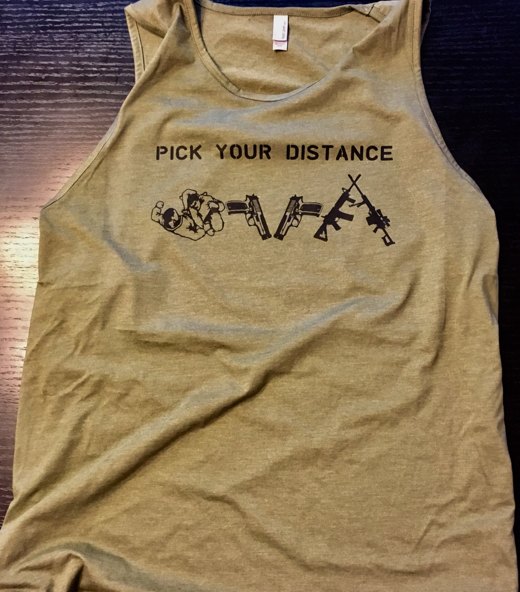Pick Your Distance Tank - No Easy Days Apparel