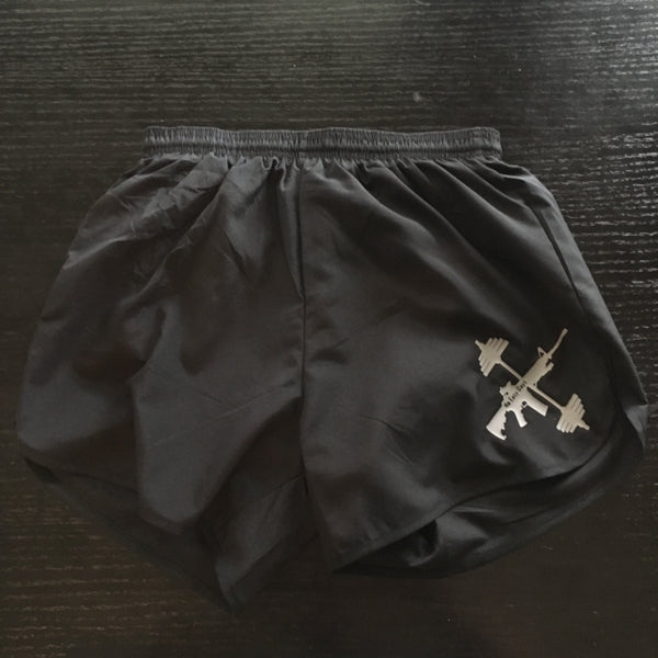 Dri Running/Lifting Short - Black - No Easy Days Apparel