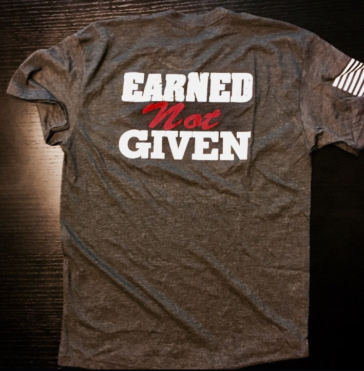 Earned Not Given - No Easy Days Apparel