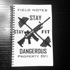 Field Notebook - No Easy Days Apparel