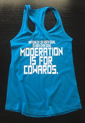 Moderation Racerback - No Easy Days Apparel