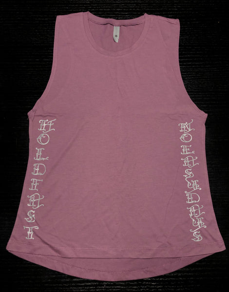 Women's Hold Fast Muscle Tank - No Easy Days Apparel