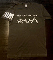 Pick Your Distance Black - LIMITED EDITION - No Easy Days Apparel