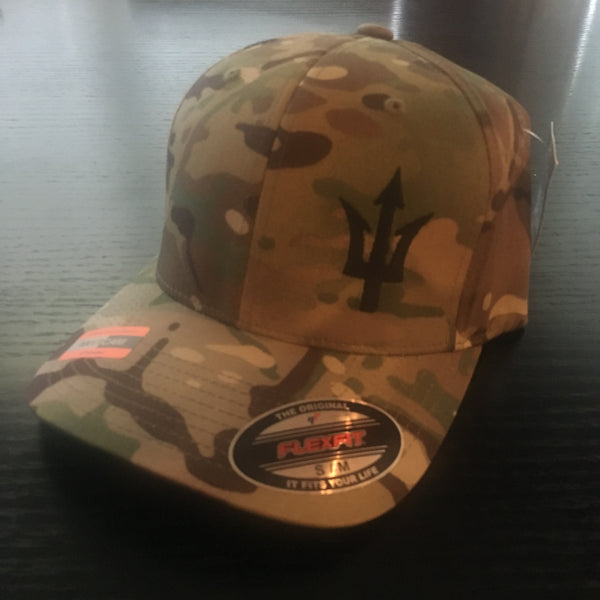 Trident Multi-Cam Hat - No Easy Days Apparel