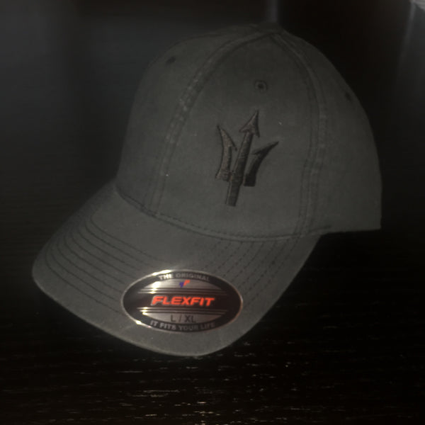 Stealth Trident Hat Distressed - No Easy Days Apparel