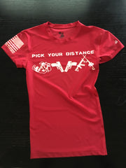 Pick Your Distance Compression Shirt - No Easy Days Apparel