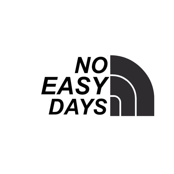 No Easy Days Decal - No Easy Days Apparel