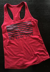 Women's No Easy Days Tank - No Easy Days Apparel