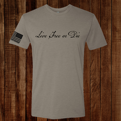 Live Free or Die - No Easy Days Apparel