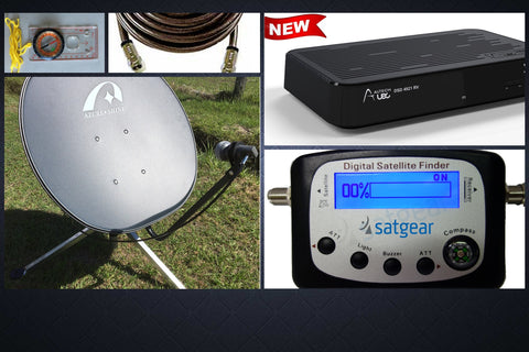 "Satgear 80cm ""Everywhere"" Caravan Satellite Kit"