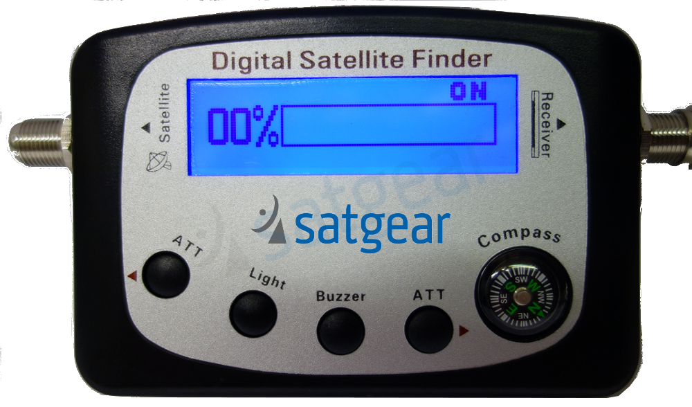 SF9505A LCD Display Analog Satellite Meter