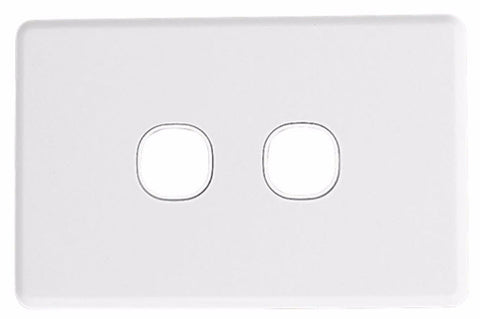 Wall Plate - 2 Gang - Classic Style