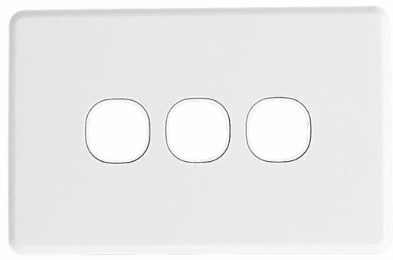 Wall Plate - 3 Gang - Classic Style