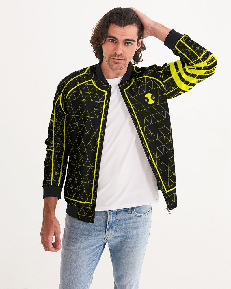 Weareuhuru Black Pattern (No Art) Men's Bomber Jacket