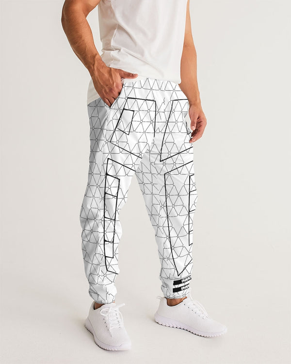 Weareuhuru White Pattern  Men's Track Pants