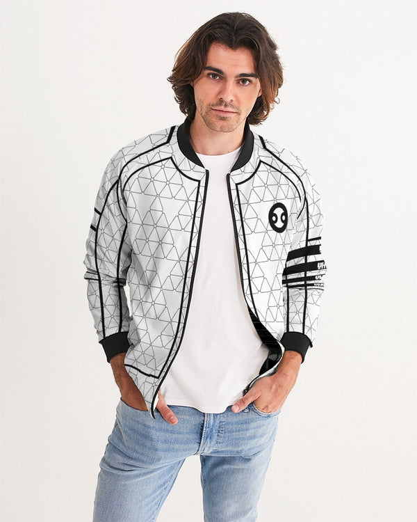 Weareuhuru White Pattern (No Art) Men's Bomber Jacket