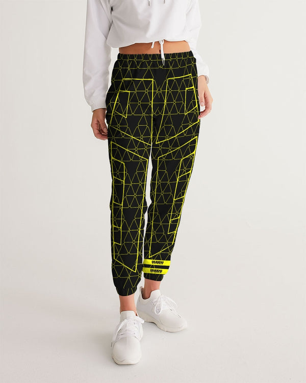 Weareuhuru Black Pattern Women's Track Pants