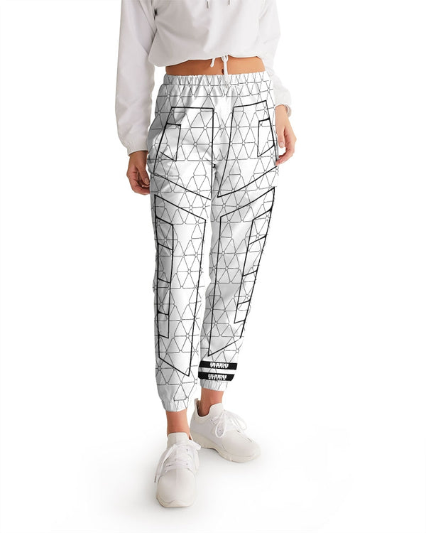 Weareuhuru White Pattern  Women's Track Pants