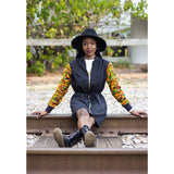 Kente Coat Dress - Uhuru Designz