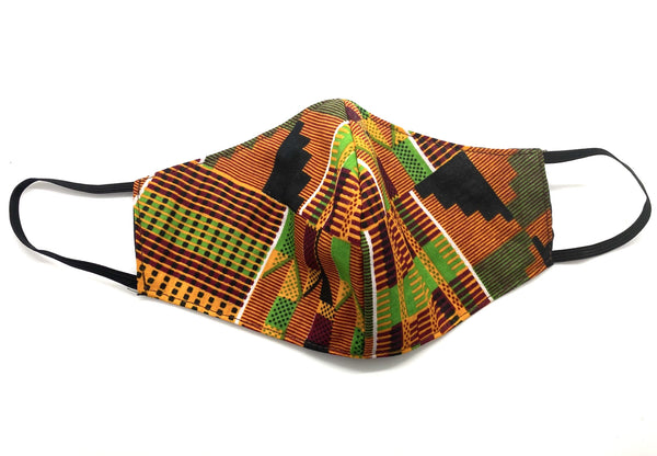 Kente Cotton Mask