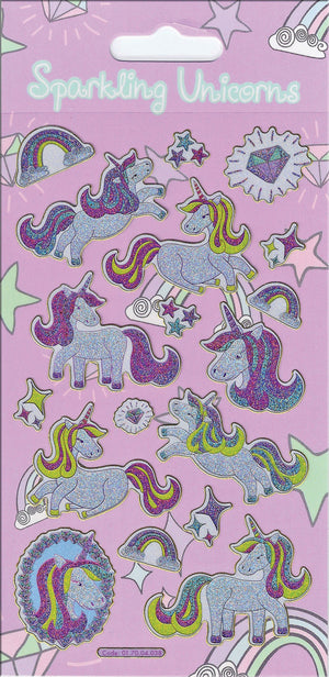 Paper Projects Unicorns Sparkle Sticker Pack