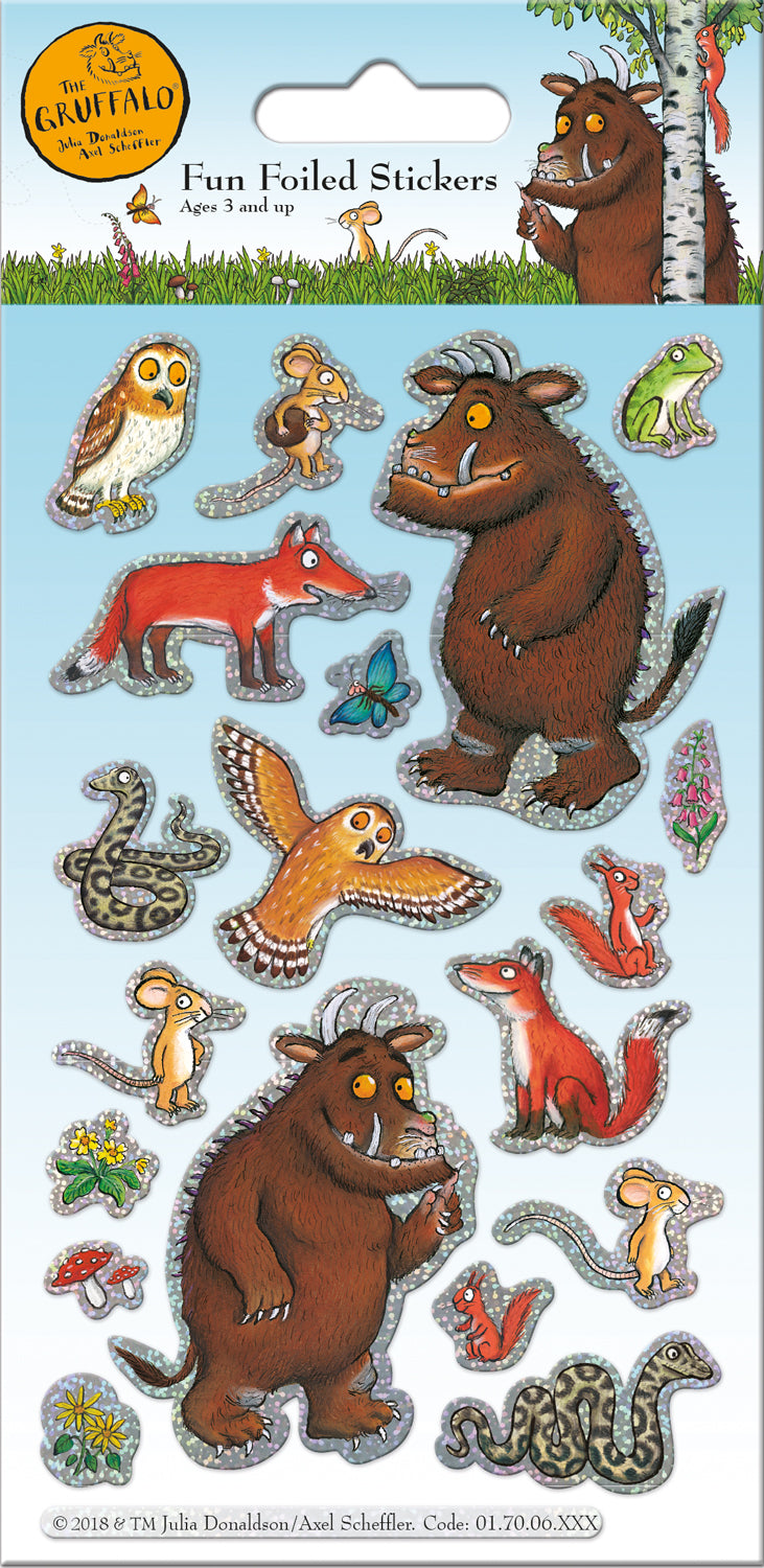 The Gruffalo Character Stickers