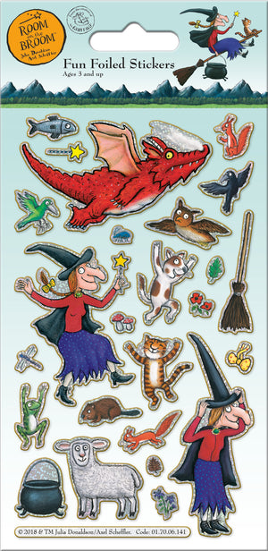 Room On The Broom Character Stickers