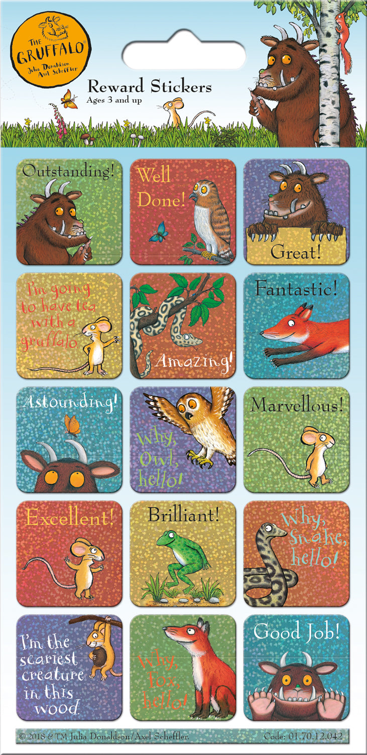 The Gruffalo Reward Stickers