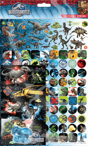 Jurasic World Mega Sticker Pack