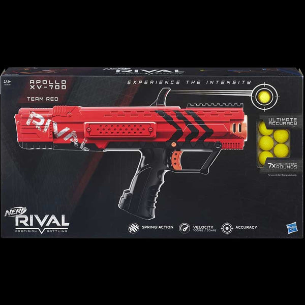 NERF RIVAL APOLLO XV-700 BLASTER RED