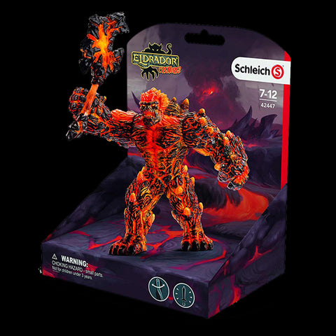 Schleich Eldrador 42447 Lava golem with weapon